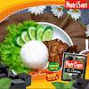 Nasi  Ayam Bakar Madu Hijrah + Es Nutrisari Cincau
