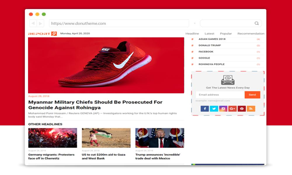 Liputan 9 News Premium Blogger Template