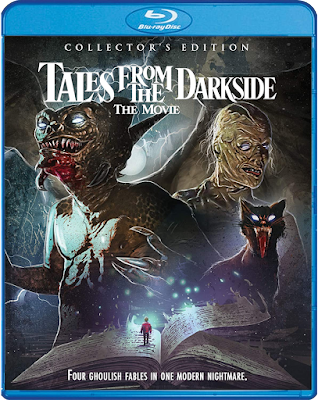 Cover art for Scream Factory's upcoming Collector's Edition Blu-ray of TALES FROM THE DARKSIDE: THE MOVIE!