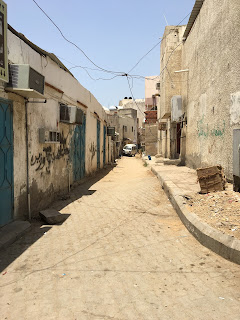 Typical Street In Jeddah