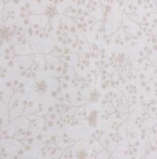"""Extra Wide Beige / Ecru Flutter, John Louden @£15.00 / m    108"""" wide 100% cotton"""