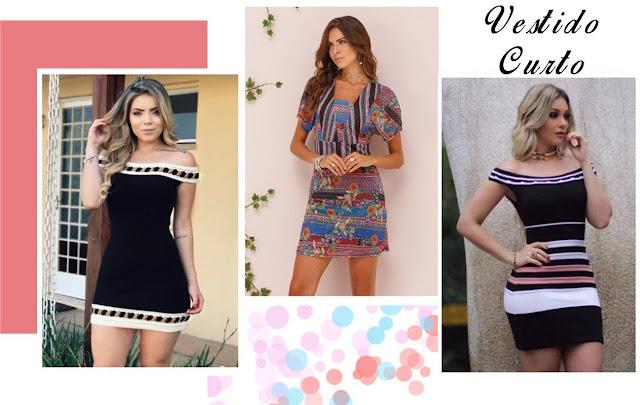 Vestidos estilosos da loja Vitrine Outlet