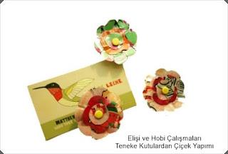 Elişi Çiçek Modelleri 6