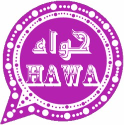 Hawa2WhatsApp violet version