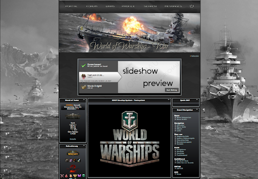 neue Styles für World of Warplanes & World of Warships