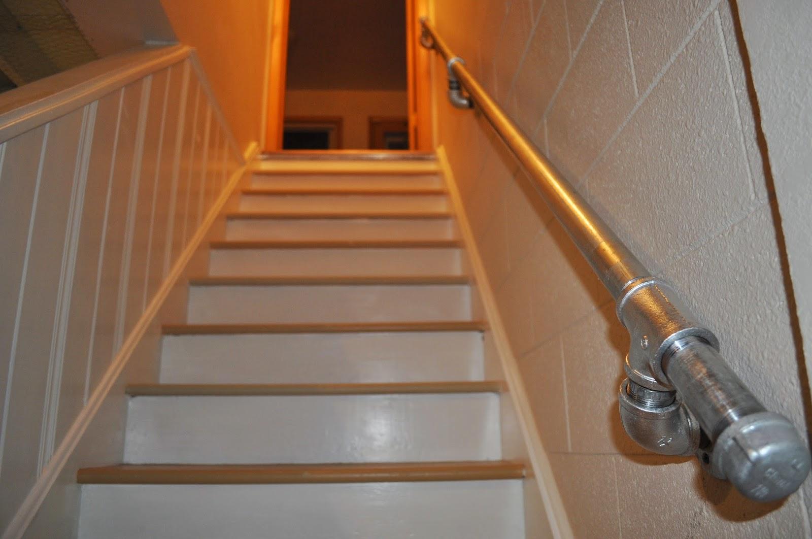 Carri Us Home: DIY Industrial Handrail