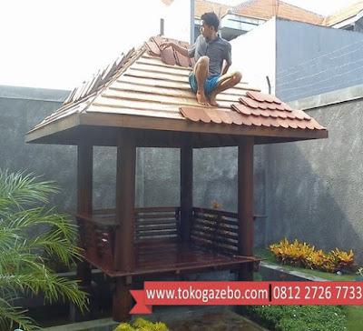 Gazebo Glugu Jepara Genteng