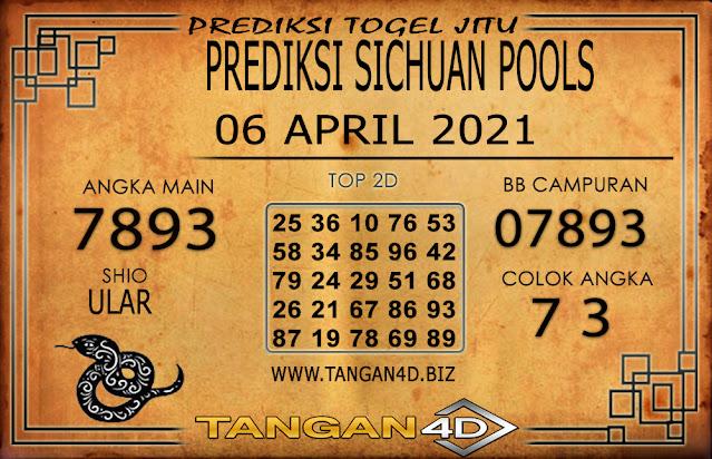 PREDIKSI TOGEL SICHUAN TANGAN4D 06 APRIL 2021