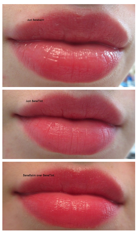 Benefit BeneBalm Hydrating Tinted Lip Balm Review+Swatches