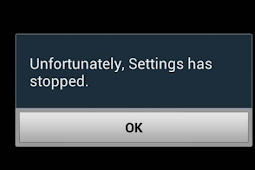 "Cara Mengatasi Error ""Unfortunately, Settings has stopped working"" Di Android"