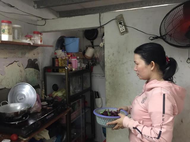 Bữa ăn không quá 50k/ ngày của mẹ con chị Kiều sau mùa dịch Covid-19