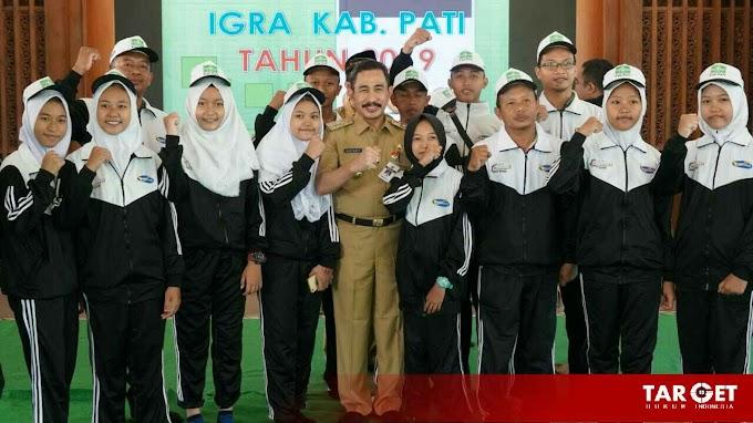 Bupati Haryanto Optimis Pati Bisa Berprestasi di Pekan Olahraga Seni Ma'arif Provinsi Jawa Tengah