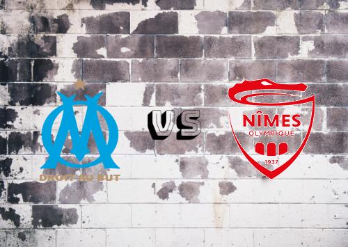 Olympique Marseille vs Nîmes   Resumen