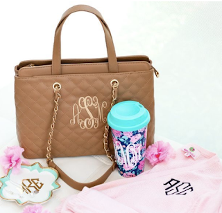 monogram purse and accessories