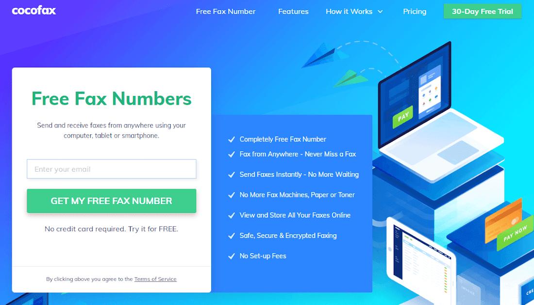 cocofax-online-fax-service