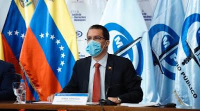 Arreaza: informe sobre Venezuela es parte del trabajo de Almagro