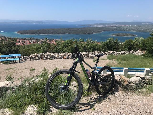 bikebergsteigen krk mountainbike mtb tour gps track insel kroatien