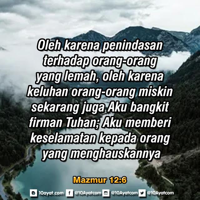 Mazmur 12:6