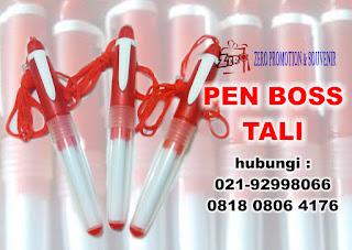 Jual Pen boss merah tali promosi Termurah hanya Rp 1200