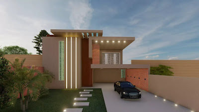 House Designing  The Process of designing starts from idea how much space we can cover for making house after all planning in homes we are here for designing elevation.