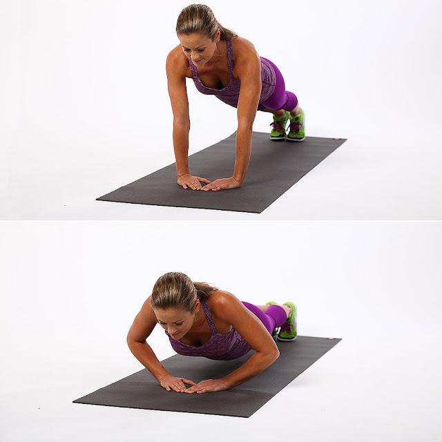 تمرين Triangle Pushup