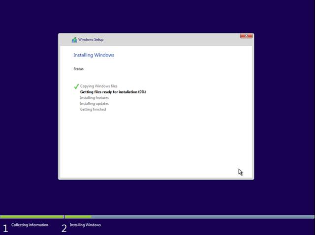 Proses Install Windows