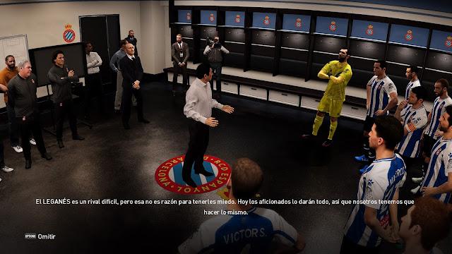 eFootball PES 2021 Season Update - Espanyol