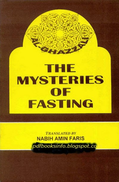 Mysteries Of Fasting Pdf Book By Imam Ghazali