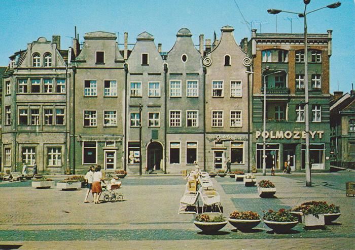 Grudziądz - Kamienice w Rynku, lata 70-te