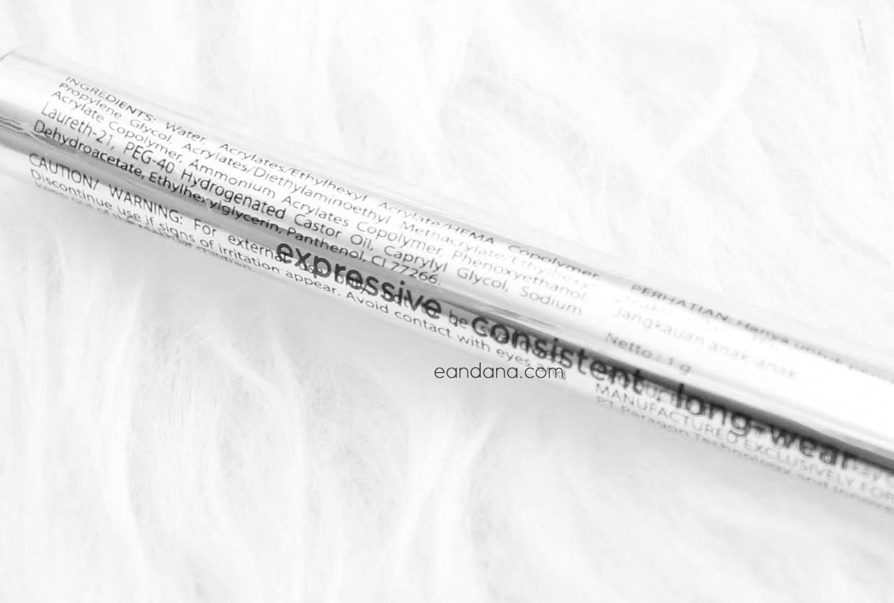 EyeXpert Optimum Hi Black Liner ingredients