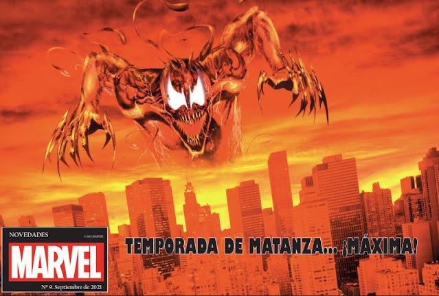 Novedades Panini Comics septiembre 2021