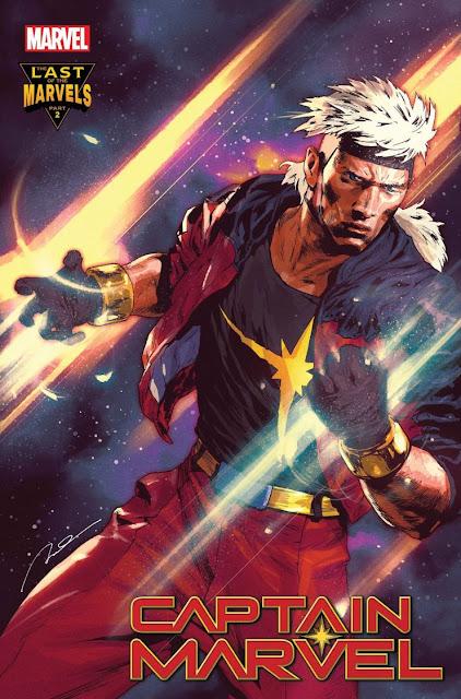 """Marvel revela """"The Last of the Marvels"""" con el regreso de Genis-Vell, el hijo de Captain Marvel."""