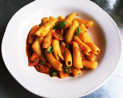 Nduja Rigatoni, jamie's Italian, Park Street, Bristol, Set Lunches Bristol, Jamie Oliver, Lunch, Theatre Meal Deals, Clifton