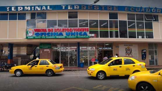 Terminal terrestre Tulcán