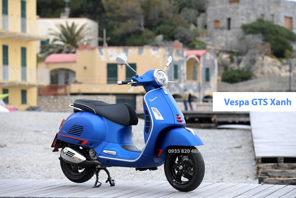 VESPA GTS 300 HPE Xanh Da Trời