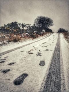 Winter Connemara Landscape