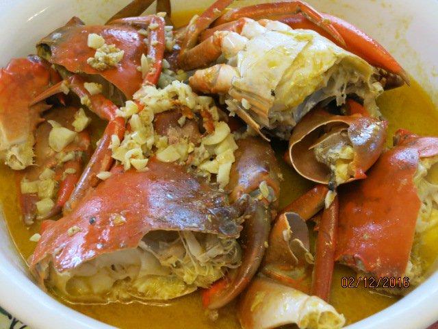 Lenten Crabs With Talangka Sauce Recipe