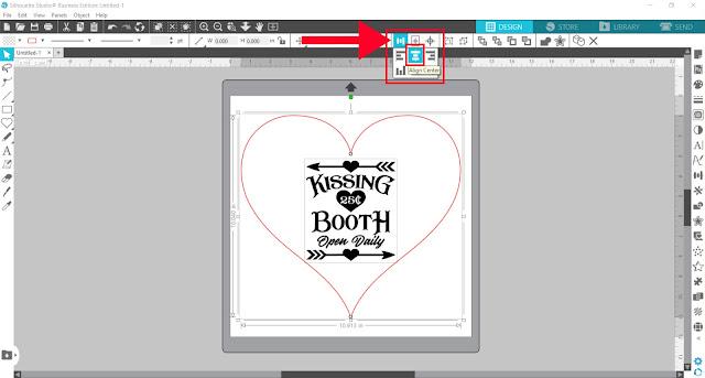 warp tool, silhouette studio, cameo 4, designer edition, Align Tools