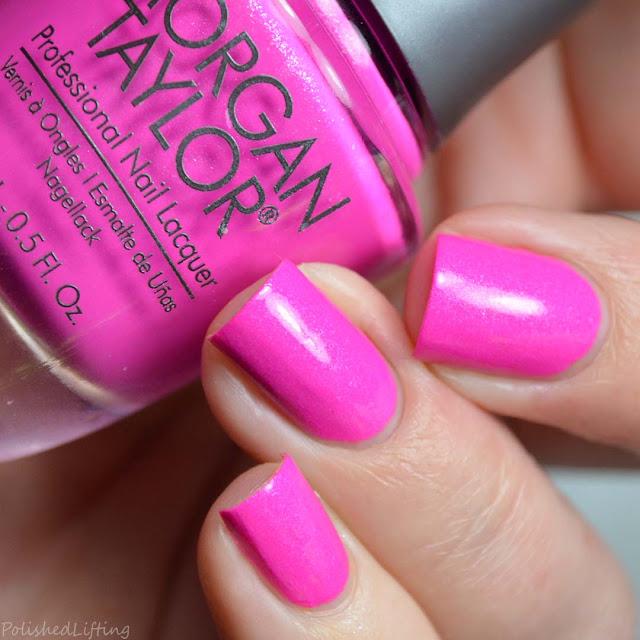 neon fuchsia nail polish