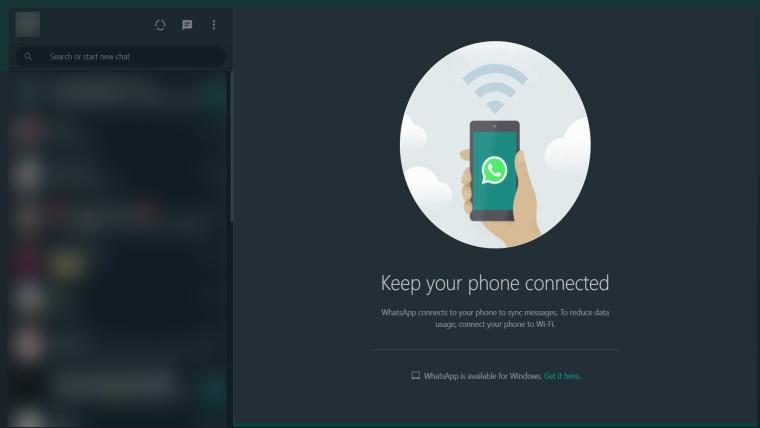 WhatsApp Web to get Dark mode