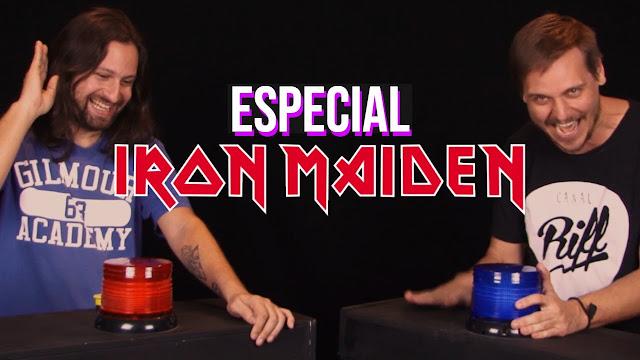 Canal Riff: Desafio do 1 Segundo - Especial Iron Maiden