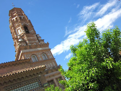 Utebo Tower in The Poble Espanyol