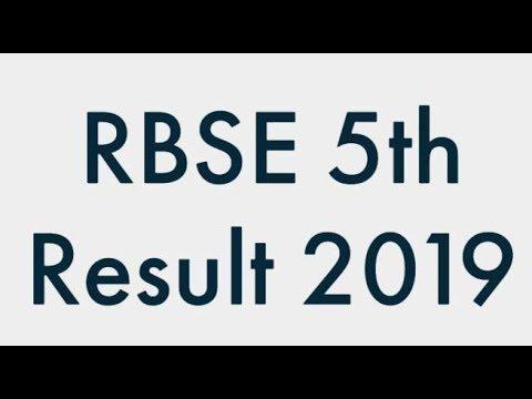RBSE 5th Class Result 2019: राजस्थान बोर्ड 5वीं के रिजल्ट घोषित, ये रहा Direct Link