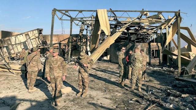 Pentagon sekarang mengatakan 50 prajuritnya menderita cedera otak akibat serangan Iran