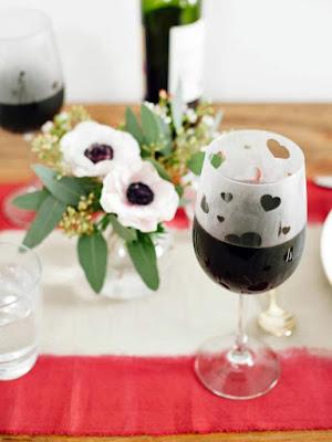 valentine's day diy wine glasses etched tutorial