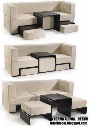 Transforming furniture for small apartments 2015 11 modern ideas - Couches for small apartments ...