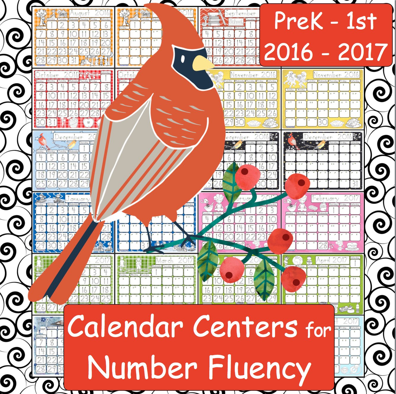 Capitals First By Print Path Using Calendars Number Fluency Handwriting Skills And Time