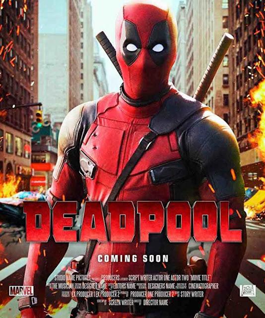 مشاهدة وتحميل فيلم الاكشن والكوميديا والمغامرات Deadpool 2016 مترجم