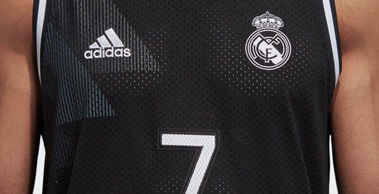 Update Stunning Real Madrid 18 19 Basketball Jersey Windbreaker