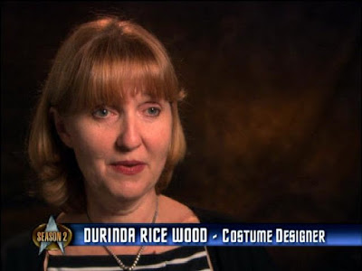 Durinda Rice Wood - TNG costume designer (season 2)